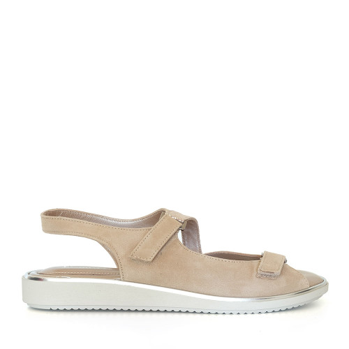 Beautifeel Robin Gold Leo side view - Hanig's Footwear