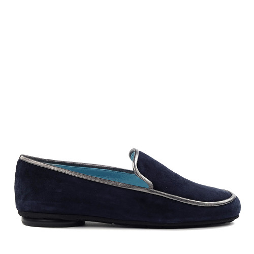 Thierry Rabotin Gabriella 1533 Navy side view - Hanig's Footwear