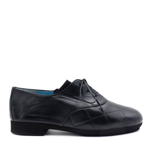 Thierry Rabotin Gea 1541MG Black Nappa side view - Hanig's Footwear
