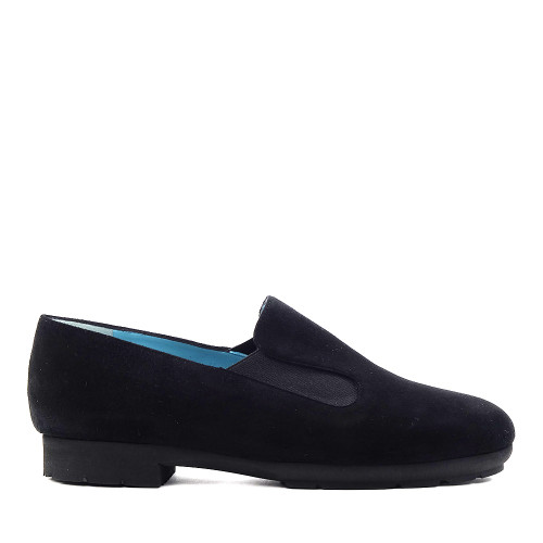 Thierry Rabotin Gillo 1544MG Black Suede side view - Hanig's Footwear
