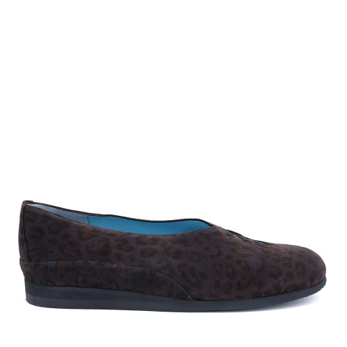 Thierry Rabotin Grace 7410 Dark Leopard side view - Hanig's Footwear
