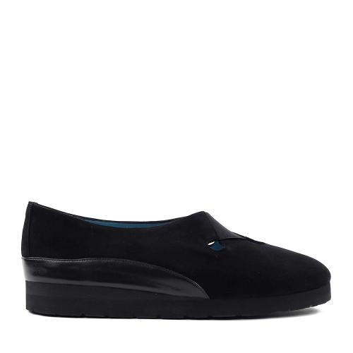 Thierry Rabotin Gio 7433 Black side view - Hanig's Footwear