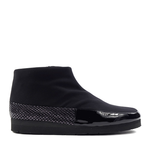 Thierry Rabotin Gedeone 1539 Black side view - Hanig's Footwear