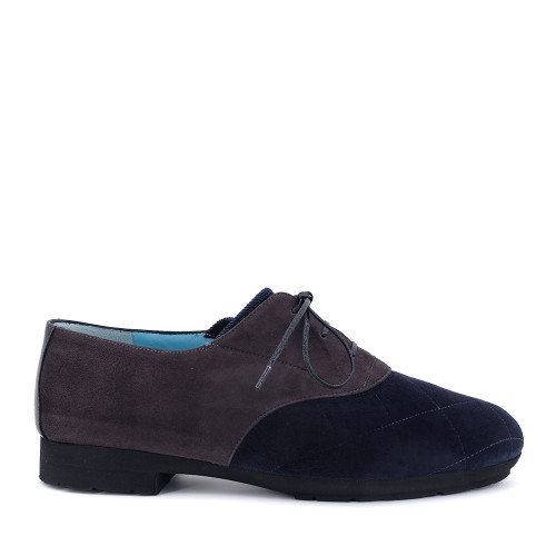 Thierry Rabotin Gea 1541MG Navy side view - Hanig's Footwear