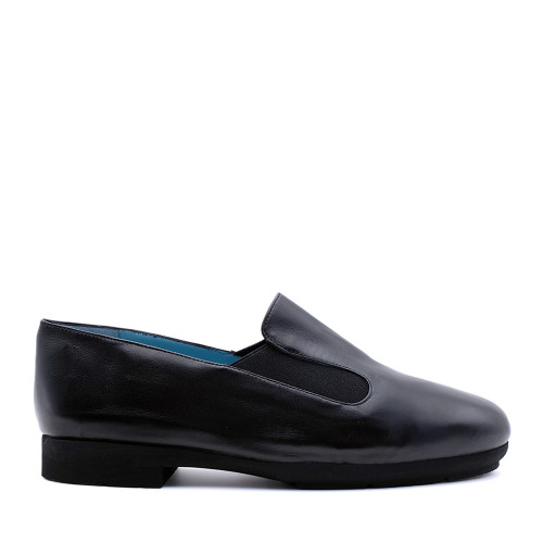Thierry Rabotin Gillo 1544MG Black nappa side view - Hanig's Footwear