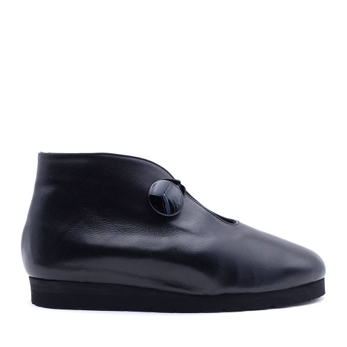 Thierry Rabotin Gybe 1543MQ Black nappa side view - Hanig's Footwear