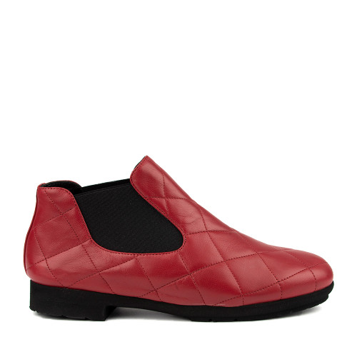 Thierry Rabotin Gezana 2283 red side view - Hanig's Footwear