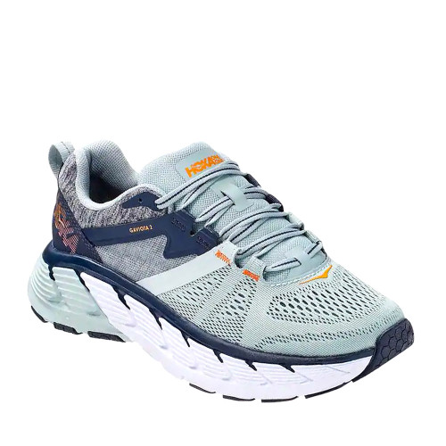 Hoka One One Gaviota 2 Moonlit Ocean Womens side view - Hanig's Footwear