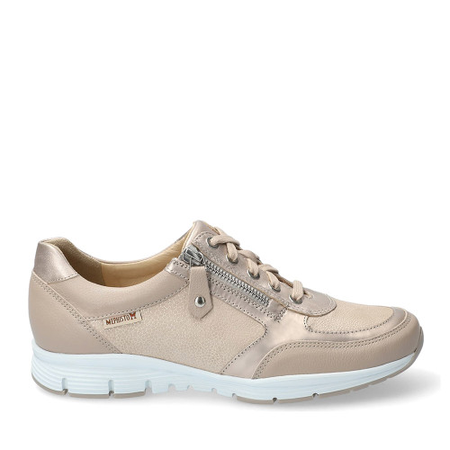 Mephisto Ylona Light Taupe side view - Hanigs Footwear