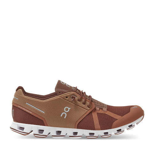 ON Running Cloud Russet Cocoa Mens side view - Hanig's Footwear