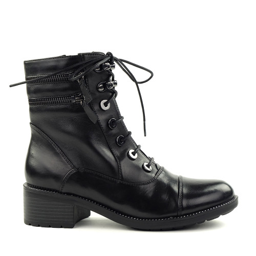 Regarde le Ciel Emily-10 Black side view - Hanig's Footwear