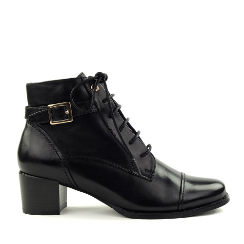 Regarde le Ciel Jolene-4 Black side view - Hanig's Footwear