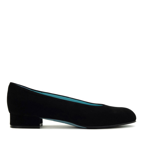 Thierry Rabotin Nadia 1010 Black Suede Side View
