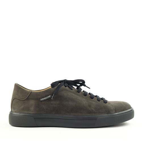 Mephisto Cristiano Dark Grey side view - Hanig's Footwear
