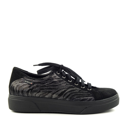 Mephisto Fanya Black 12200 side view - Hanigs Footwear