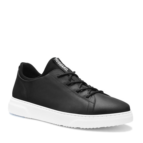 Samuel Hubbard Flight Carbon Black Side - Hanig's Footwear