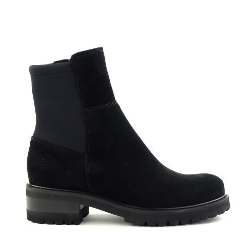 La Canadienne Callista Black side view - Hanig's Footwear