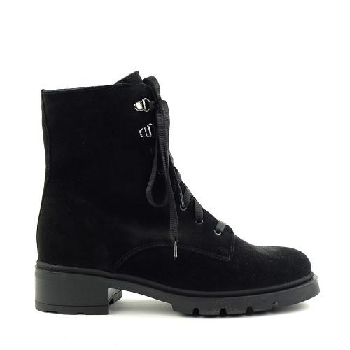 La Canadienne Sabel Black side view - Hanig's Footwear
