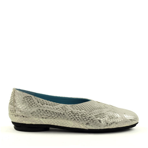 Thierry Rabotin Grace 7410 White Rio side view - Hanig's Footwear