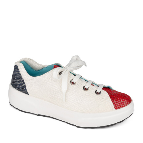 Thierry Rabotin Active Shoes Carol 9301G9 Active Blue Red - Hanig's Footwear
