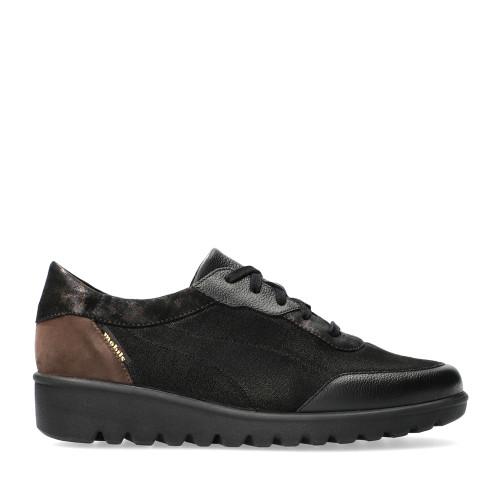 Mephisto Shoes Auriana Black side view - Hanigs Footwear
