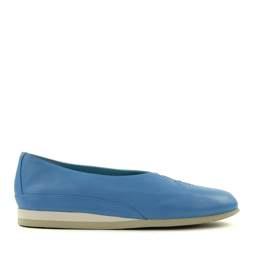 Thierry Rabotin Grace 7410S1A Blue side view - Hanig's Footwear