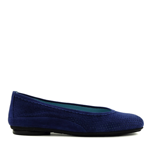 Thierry Rabotin Genie 7445 Blue side view - Hanig's Footwear