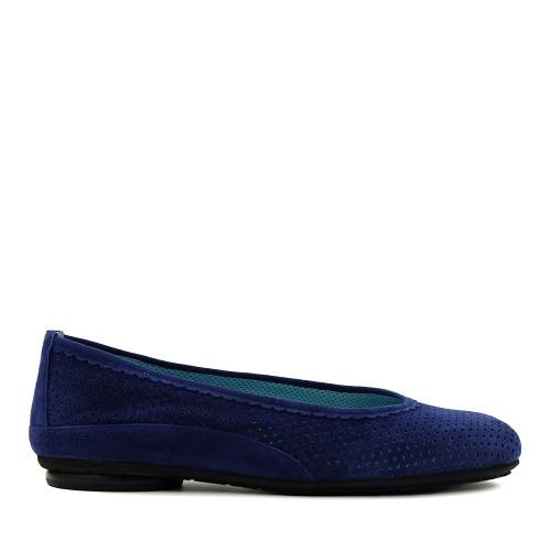 Thierry Rabotin Genie 7445 Blue side view - Hanig's Footwear