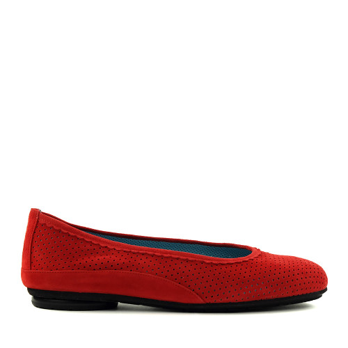 Thierry Rabotin Genie 7445 Red side view - Hanig's Footwear