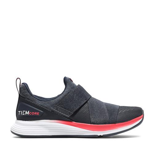 TIEM Shoes Womens training shoe Latus deep navy side view - Hanig's Footwear
