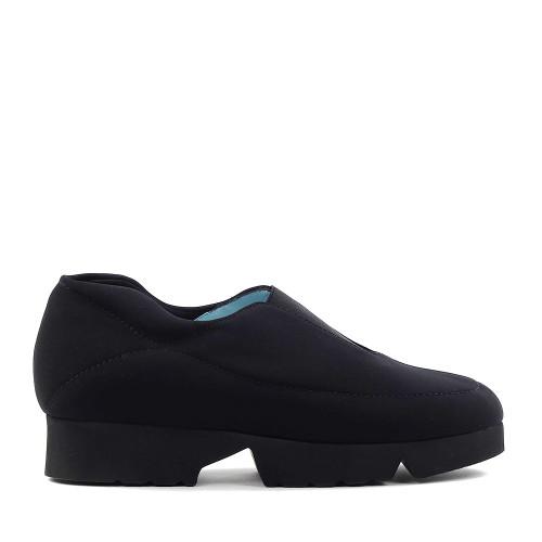 Thierry Rabotin Guia X002H Black Peach side view - Hanig's Footwear