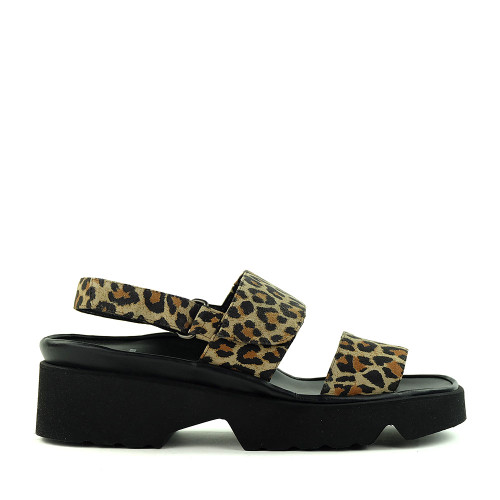 Thierry Rabotin Barton 1332 Leopard side view - Hanig's Footwear