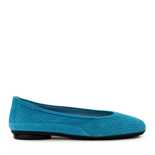 Thierry Rabotin Genie 7445 Light Blue side view - Hanig's Footwear