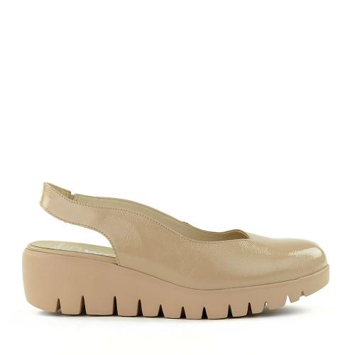 Wonders C-33243 Palo Taupe Leather side view - Hanig's Footwear