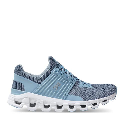 ON Running  Cloudswift Lake Sky Blue side view - Hanig's Footwear