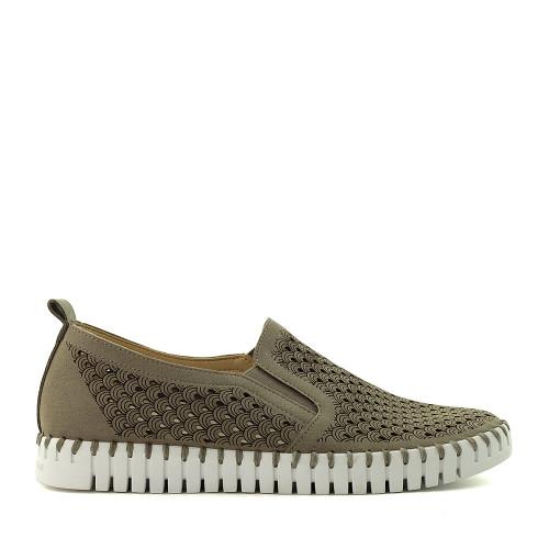 Ilse Jacobsen Tulip 140 Falcon side view - Hanig's Footwear