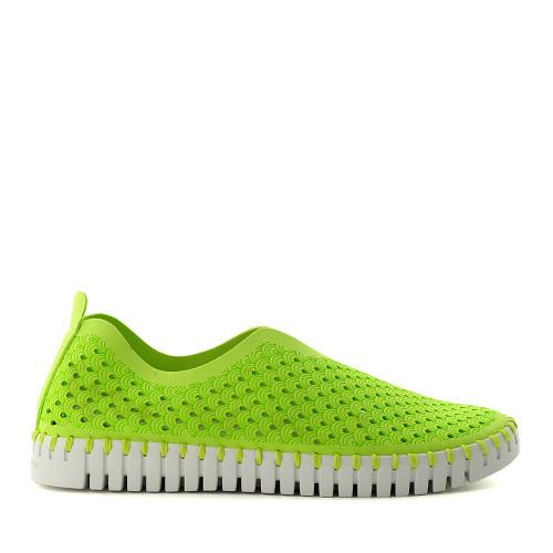 Ilse Jacobsen Tulip 139 Lime Green side view - Hanig's Footwear