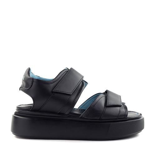 Thierry Rabotin Alexa G0013 Black side view - Hanig's Footwear