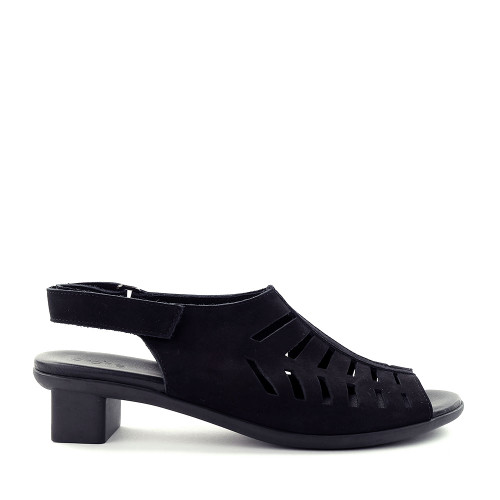 Arche Obilam noir side view — Hanigs Footwear