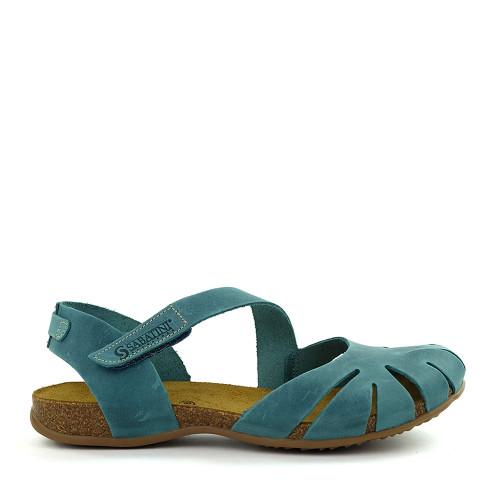 Sabatini 4603 Jeans Blue side - Hanig's Footwear