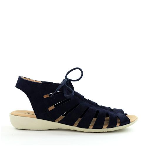 Hirica Maelys Marine side view - Hanig's Footwear
