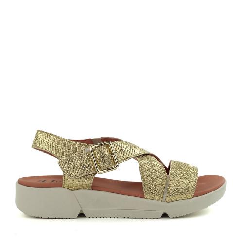 Hirica Florence Platine side view - Hanig's Footwear