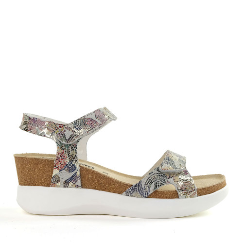 Mephisto Coraly Pompeii Print side view - Hanigs Footwear