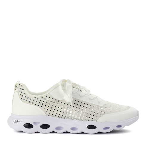 Ara Montclair White side view - Hanig's Footwear