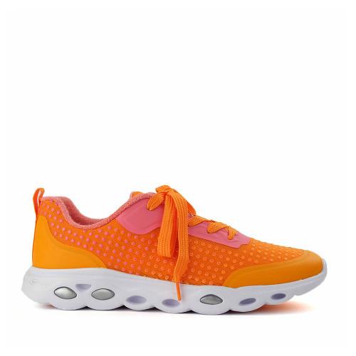 Ara Montclair Orange side view - Hanig's Footwear