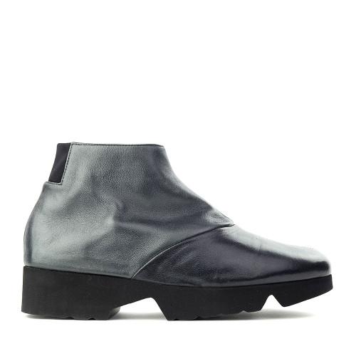 Thierry Rabotin Gaggio 2414H Black Taffetas side view - Hanig's Footwear