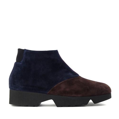 Thierry Rabotin Gaggio 2414H Brown Suede side view - Hanig's Footwear