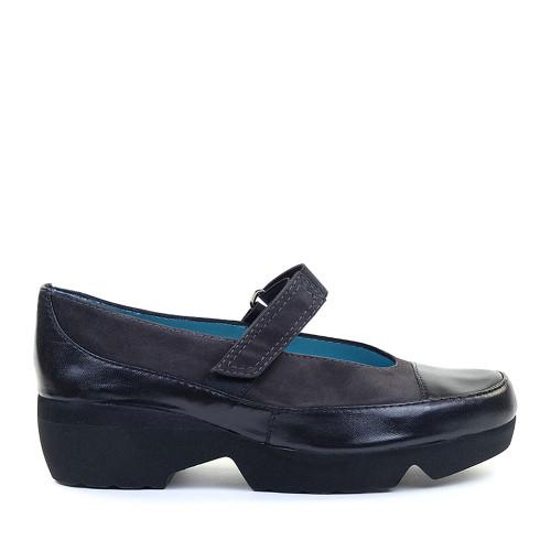 Thierry Rabotin Nekhel 3572HP Grey Suede side view - Hanig's Footwear
