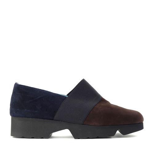 Thierry Rabotin Giunone 2413H Brown/Blue side view - Hanig's Footwear