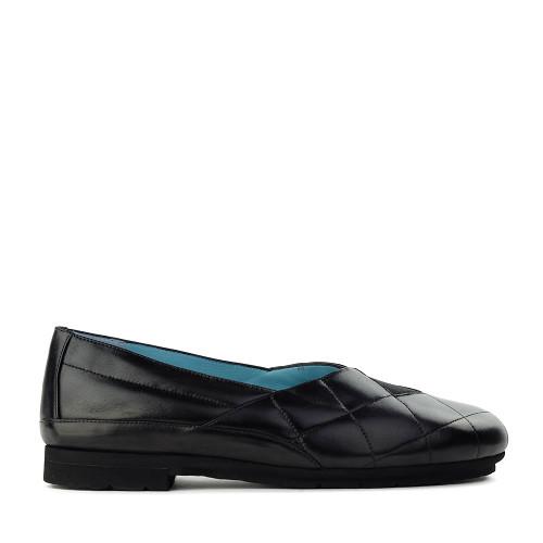 Thierry Rabotin Gigi 7468 Black Nappa side view - Hanig's Footwear